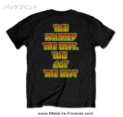 KISS (キッス) YOU WANTED THE BEST, YOU GOT THE BEST!! 「ベスト・オブ・ザ・ベスト〜KISSアライヴ」 Tシャツ