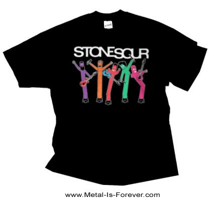 STONE SOUR (ストーン・サワー) BAND INFLATABLES 「バンド・ インフレータブル」 Tシャツ