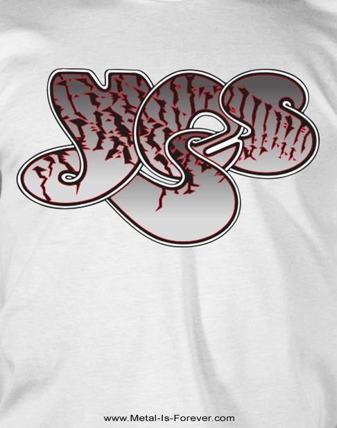 YES (イエス) PATTERN LOGO 「パターン・ロゴ」 Tシャツ(白)