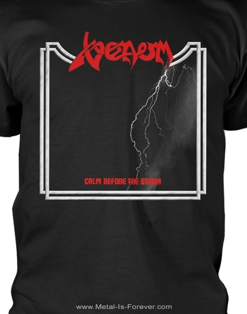 VENOM (ヴェノム) CALM BEFORE THE STORM 「カーム・ビフォー・ザ・ストーム」 Tシャツ Ver.2