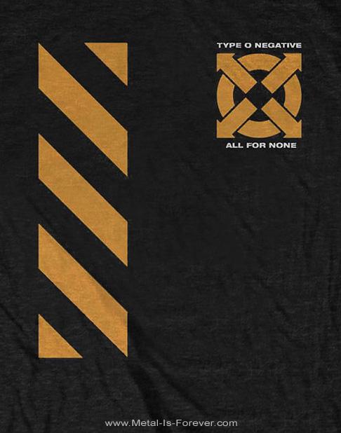 TYPE O NEGATIVE (タイプ・オー・ネガティヴ) BE A MAN 「ビー・ア・マン」 Tシャツ