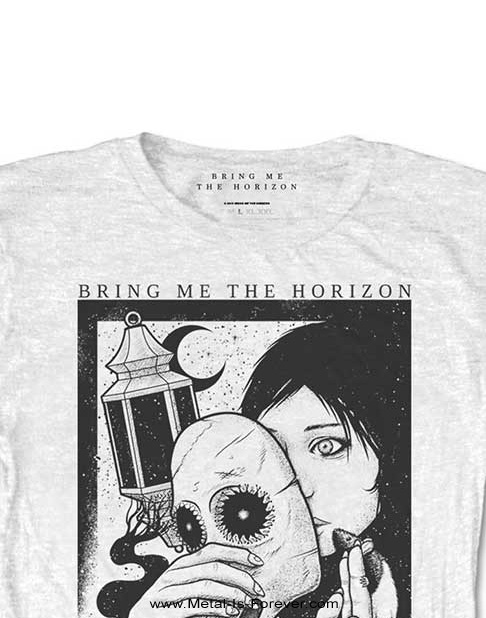 BRING ME THE HORIZON (ブリング・ミー・ザ・ホライズン) PLAGUE 「ペスト」 レディース Tシャツ(白)