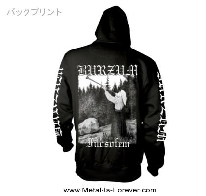 BURZUM -バーズム- FILOSOFEM 「絶望論」  ロゴ パーカー