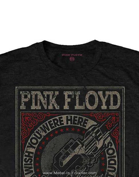 PINK FLOYD -ピンク・フロイド- WISH YOU WERE HERE ABBEY ROAD STUDIOS 「炎〜あなたがここにいてほしい・アビー・ロード・スタジオ」 Tシャツ