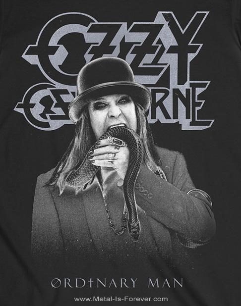 OZZY OSBOURNE (オジー・オズボーン) ORDINARY MAN SNAKE 「オーディナリー・マン・スネーク」 Tシャツ