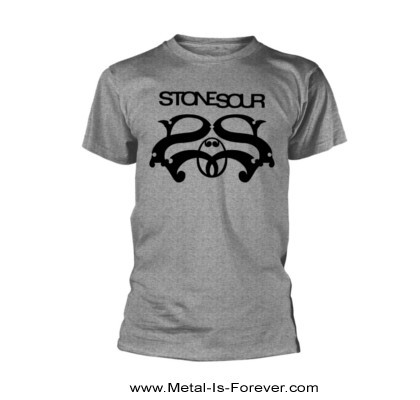 STONE SOUR (ストーン・サワー) LOGO 「ロゴ」 Tシャツ(グレー)