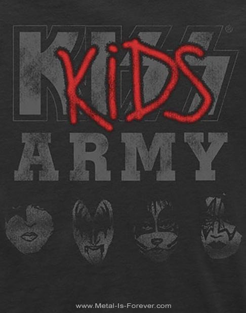 KISS (キッス) KIDS ARMY 「地獄のキッズ軍団」 キッズTシャツ