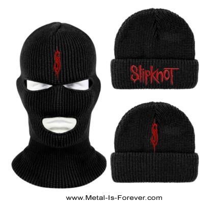 SLIPKNOT (スリップノット) LOGO 「ロゴ」 目出し帽(ニットキャップ)