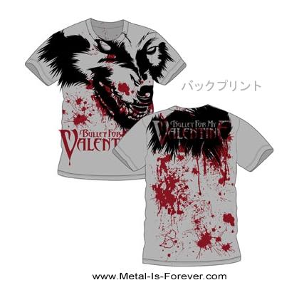 【在庫有り商品】BULLET FOR MY VALENTINE -ブレット・フォー・マイ・ヴァレンタイン- WEREWOLF 「ウェアウルフ」 Tシャツ (オールオーバー) Sサイズ