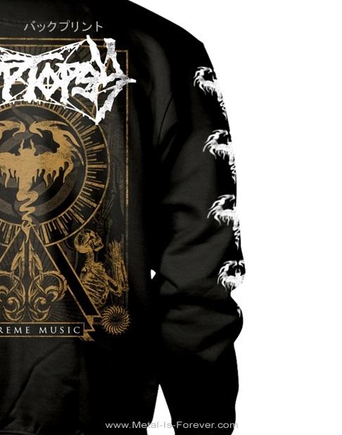 CRYPTOPSY -クリプトプシー- EXTREME MUSIC 「エクストリーム・ミュージック」 パーカー