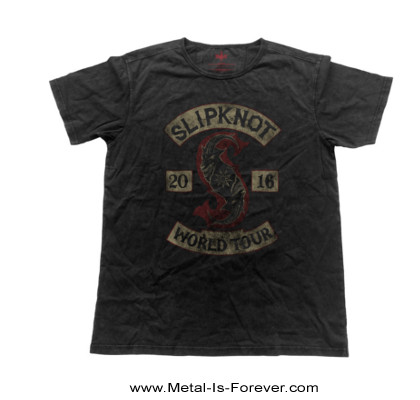 SLIPKNOT -スリップノット- PATCHED-UP 「パッチ・アップ」  Tシャツ(ヴィンテージ・フィニッシュ)
