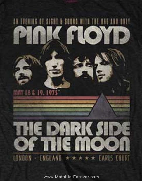 PINK FLOYD -ピンク・フロイド- THE DARK SIDE OF THE MOON 「狂気」 ヴィンテージ・ストライプ Tシャツ