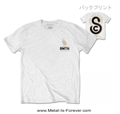 BRING ME THE HORIZON -ブリング・ミー・ザ・ホライズン- SHEFFIELD SNAKE 「シェフィールド・スネーク」 Tシャツ(白)