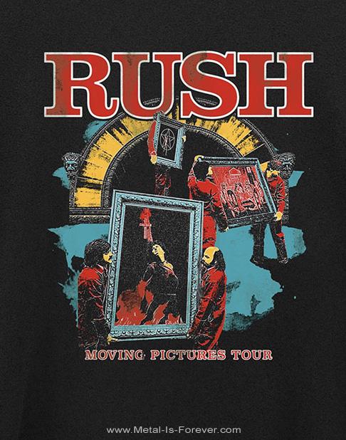 RUSH (ラッシュ) MOVING PICTURES TOUR 「ムービング・ピクチャーズ・ツアー」 Tシャツ