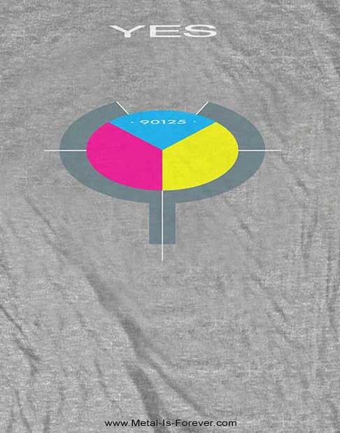 YES (イエス) 90125 「ロンリー・ハート」 Tシャツ(グレー)