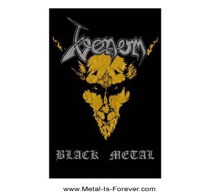 VENOM (ヴェノム) BLACK METAL 「ブラック・メタル」 布製ポスター
