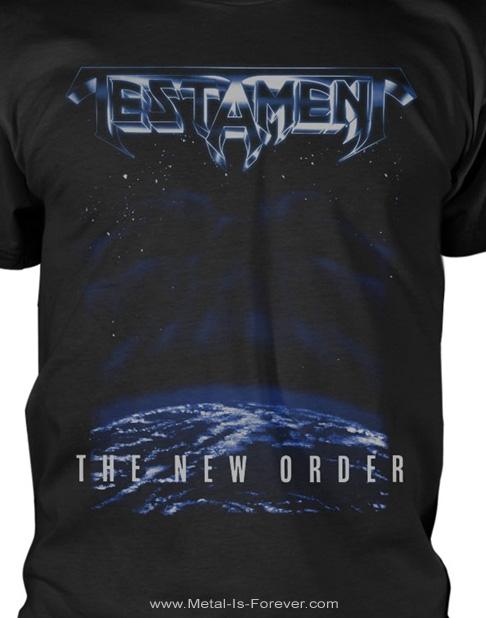 TESTAMENT (テスタメント) THE NEW ORDER 「ニュー・オーダー」 Tシャツ