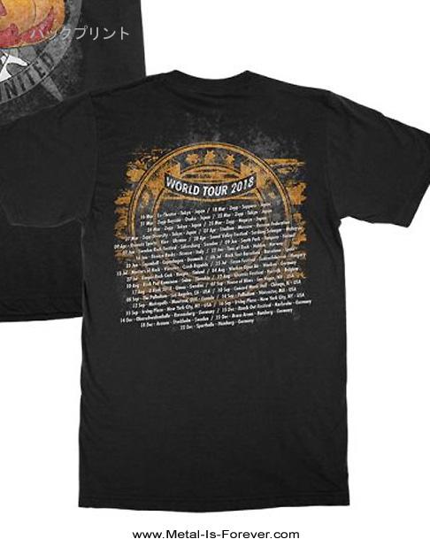 HELLOWEEN (ハロウィン) I WANT OUT 「アイ・ウォント・アウト」 ワールド・ツアー Tシャツ