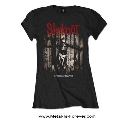SLIPKNOT (スリップノット) .5: THE GRAY CHAPTER 「.5:ザ・グレイ・チャプター」 レディースTシャツ