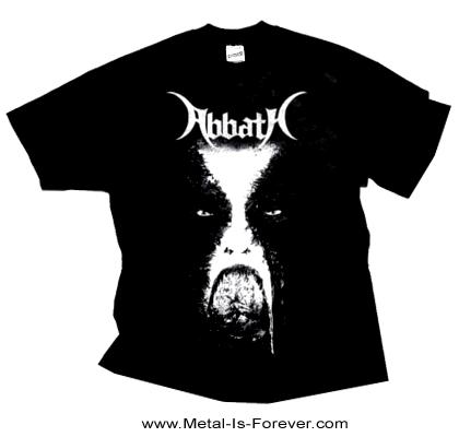 【在庫有り】ABBATH -アバス- FACE「フェイス」Tシャツ Mサイズ
