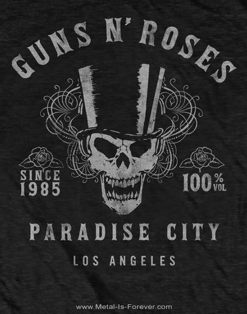 GUNS N' ROSES -ガンズ・アンド・ローゼズ-  100% VOLUME 「100% ヴォリューム」  Tシャツ