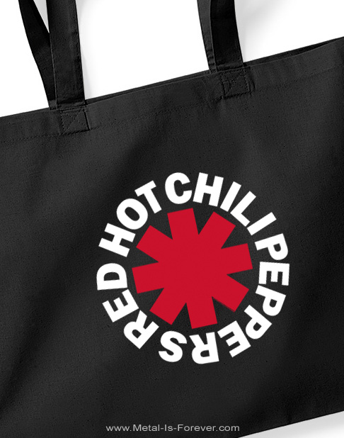 RED HOT CHILI PEPPERS -レッド・ホット・チリ・ペッパーズ- ASTERISKS LOGO 「アスタリスク・ロゴ」 ショッパー・バッグ