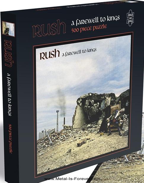 RUSH -ラッシュ- A FAREWELL TO KINGS 「フェアウェル・トゥ・キングス」 500ピース ジグソーパズル
