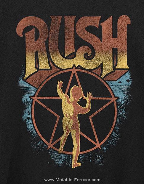 RUSH (ラッシュ) STARMAN 「スターマン」 Tシャツ