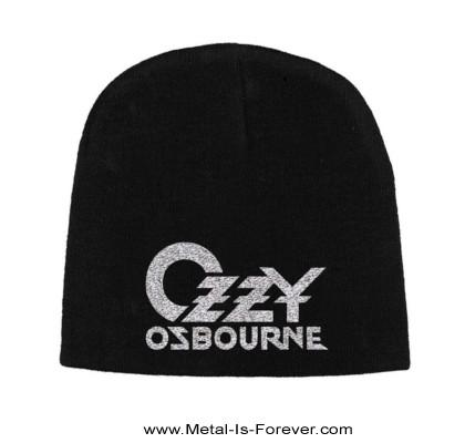 OZZY OSBOURNE (オジー・オズボーン) LOGO 「ロゴ」 ニットキャップ ver.2