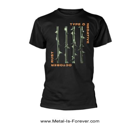 TYPE O NEGATIVE (タイプ・オー・ネガティヴ) OCTOBER RUST 「オクトーバー・ラスト」 Tシャツ