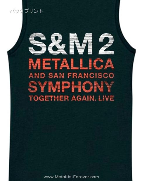 METALLICA (メタリカ) S&M2 SCRATCH CELLO 「メタリカ&サンフランシスコ交響楽団:S&M2 スクラッチ・チェロ」 レディース タンクトップ