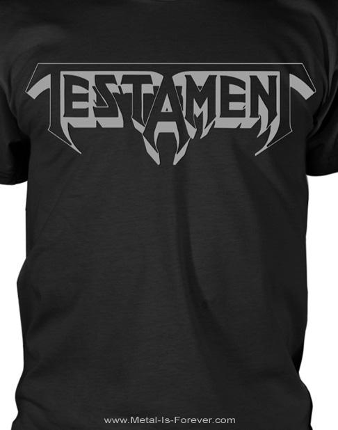 TESTAMENT (テスタメント) LOGO 「ロゴ」 Tシャツ