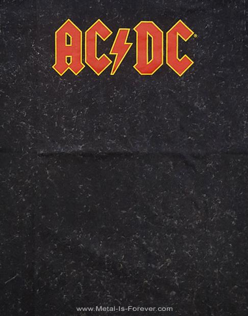 AC/DC (エーシー・ディーシー) LOGO 「ロゴ」 スノーウォッシュ Tシャツ