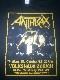 【在庫切れ商品】ANTHRAX -アンスラックス- AMONG THE LIVING 「アマング・ザ・リヴィング」 1987年スイス・ツアー Tシャツ Mサイズ