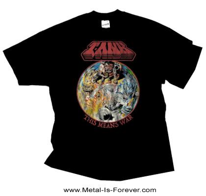TANK -タンク- THIS MEANS WAR 「ディス・ミーンズ・ウォー」 Tシャツ
