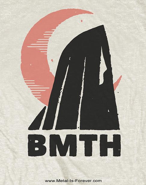 BRING ME THE HORIZON -ブリング・ミー・ザ・ホライズン-  MOON 「ムーン」 Tシャツ(ナチュラルカラー)