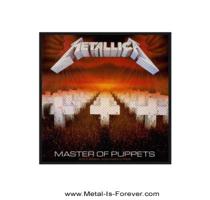 METALLICA (メタリカ) MASTER OF PUPPETS 「メタル・マスター」 ワッペン