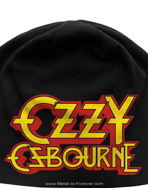 OZZY OSBOURNE (オジー・オズボーン) LOGO 「ロゴ」 ニットキャップ(薄手)