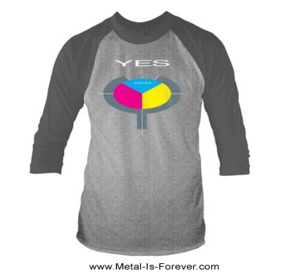 YES (イエス) 90125 「ロンリー・ハート」 ラグラン七分袖Tシャツ(グレー)