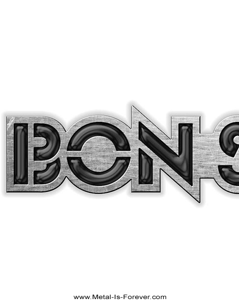 BON SCOTT (ボン・スコット) LOGO 「ロゴ」 ピンバッジ