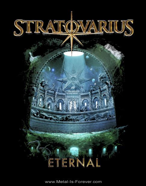 STRATOVARIUS (ストラトヴァリウス) ETERNAL 「エターナル」 Tシャツ