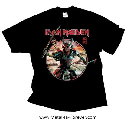 IRON MAIDEN (アイアン・メイデン) SENJUTSU EDDIE WARRIOR 「戦術 - 侍エディ」 サークル Tシャツ