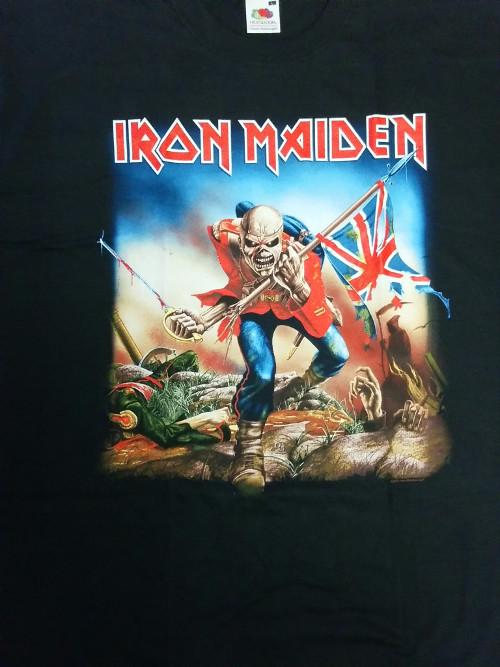 【在庫有り商品】IRON MAIDEN -アイアン・メイデン- THE TROOPER 「明日なき戦い」  Tシャツ Lサイズ