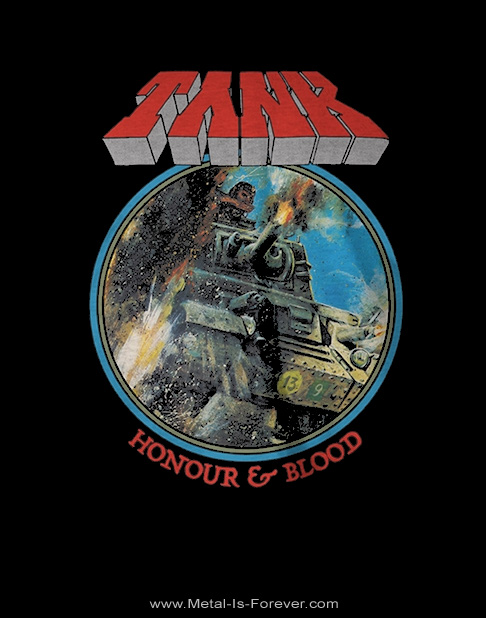 TANK -タンク- HONOUR AND BLOOD 「血まみれの栄光」 Tシャツ