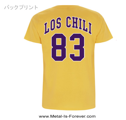 RED HOT CHILI PEPPERS -レッド・ホット・チリ・ペッパーズ- LOS CHILI 「ロス・チリ」 Tシャツ(イエロー)