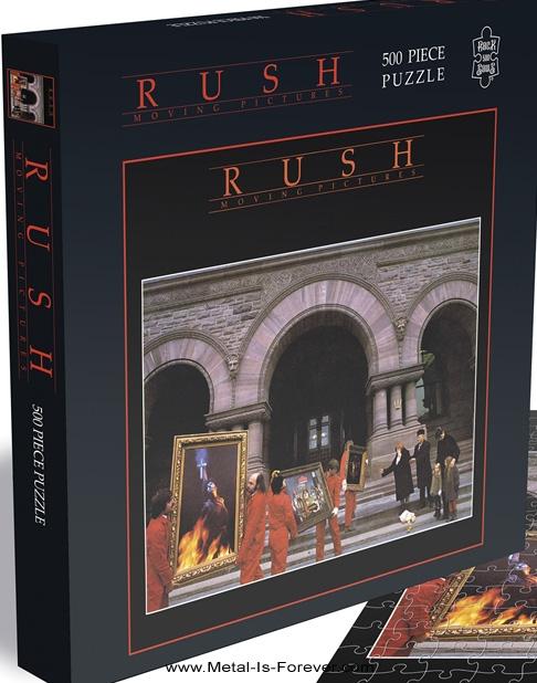 RUSH -ラッシュ- MOVING PICTURES 「ムービング・ピクチャーズ」 500ピース ジグソーパズル