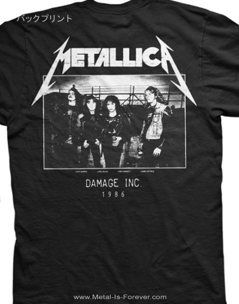 METALLICA (メタリカ) DAMAGE, INC. 「ダメージ・インク」 フォト Tシャツ