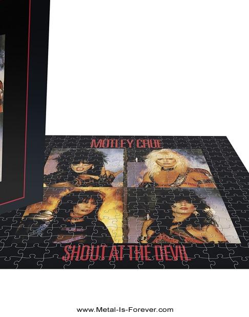 MOTLEY CRUE (モトリー・クルー) SHOUT AT THE DEVIL 「シャウト・アット・ザ・デヴィル」 500ピース ジグソーパズル