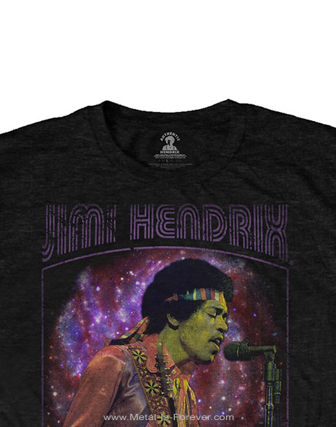 JIMI HENDRIX (ジミ・ヘンドリックス) PURPLE HAZE 「パープル・ヘイズ(紫のけむり)」 フレーム Tシャツ