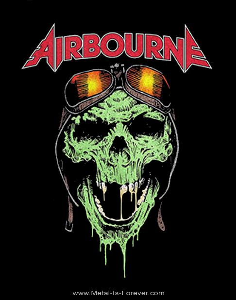 AIRBOURNE (エアボーン) HELL PILOT GLOW 「ヘル・パイロット・グロウ」 Tシャツ